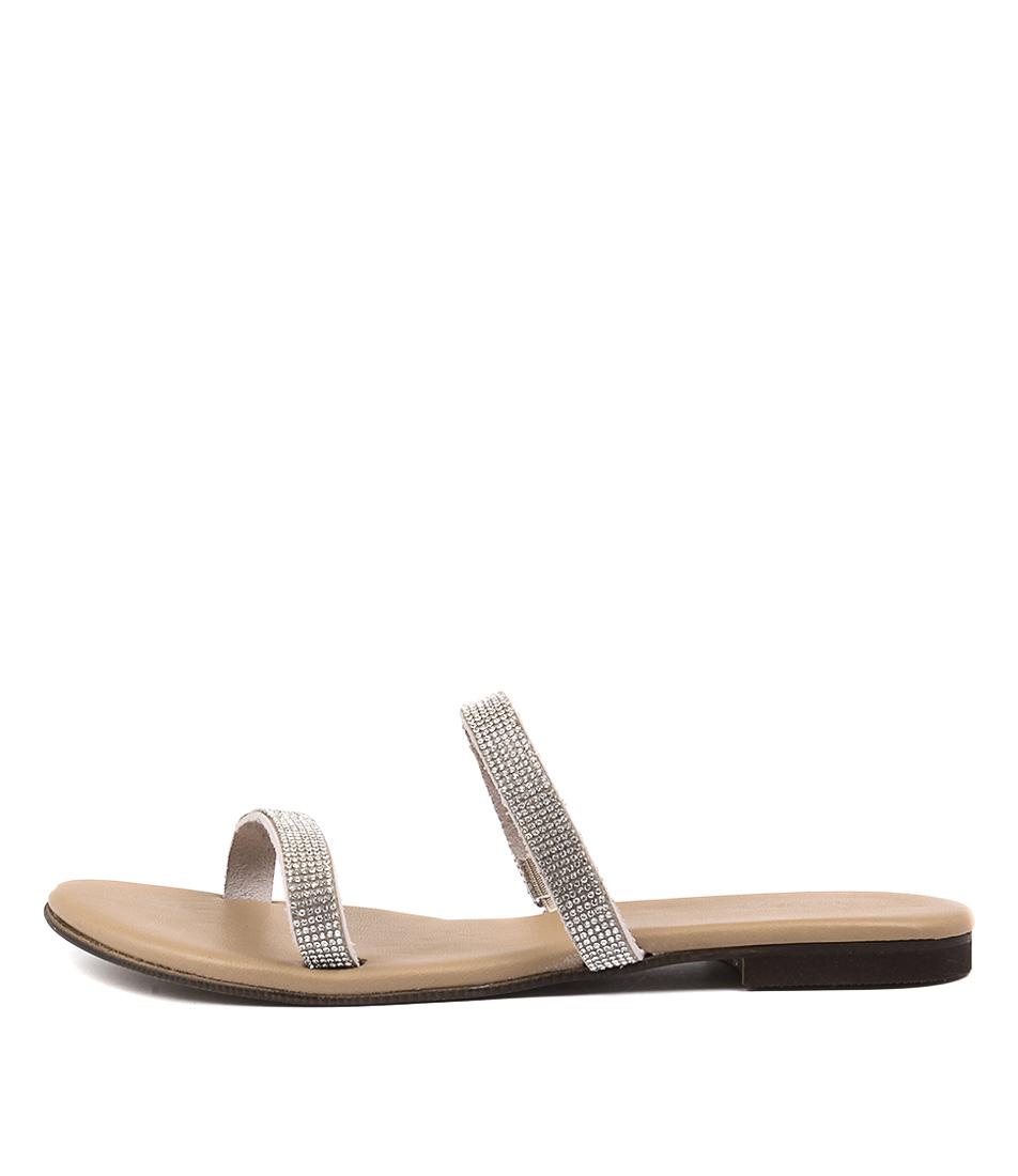 Beltrami Katel Natural Casual Flat Sandals