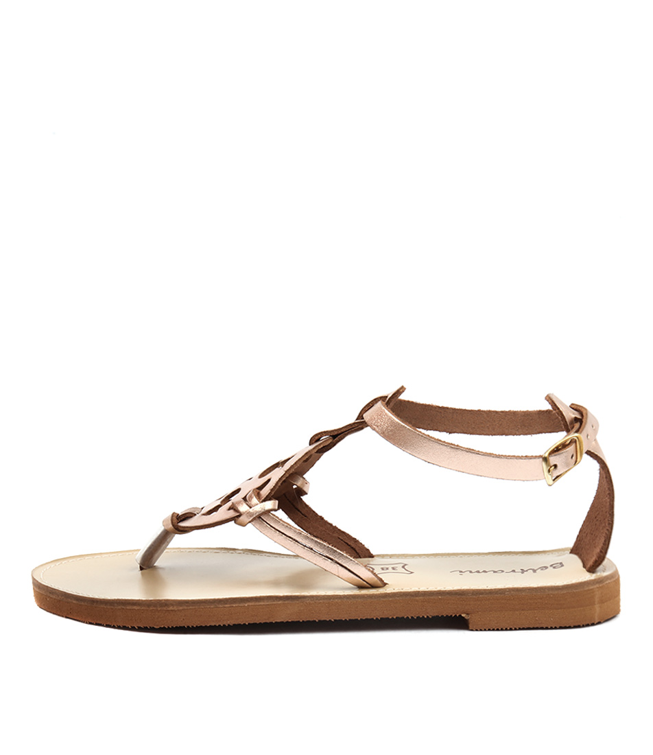 Beltrami Haylee Rose Gold Sandals