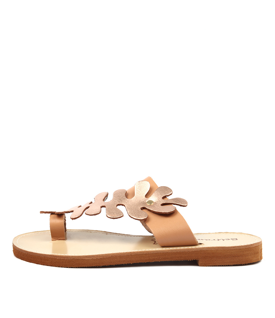 Beltrami Haley Be Natural Rose Go Casual Flat Sandals
