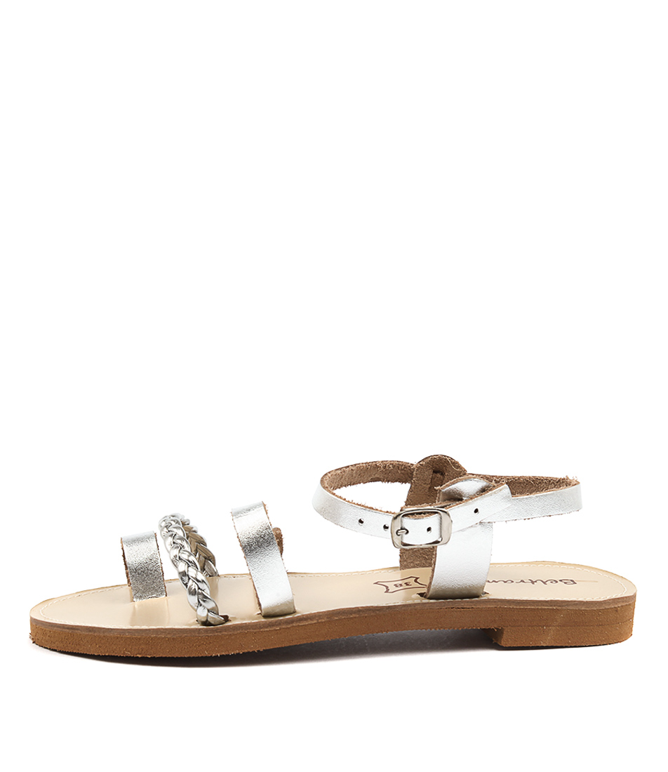 Beltrami Hatch Be Silver Sandals