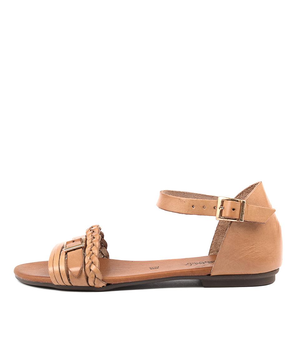 Beltrami Samona Cuoio (Tan) Casual Flat Sandals