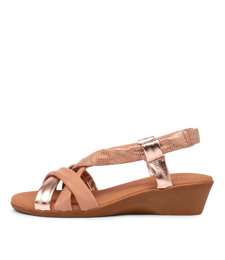 Buy Beltrami Ana Sofia Be Nude Multi Heeled Sandals online with free shipping