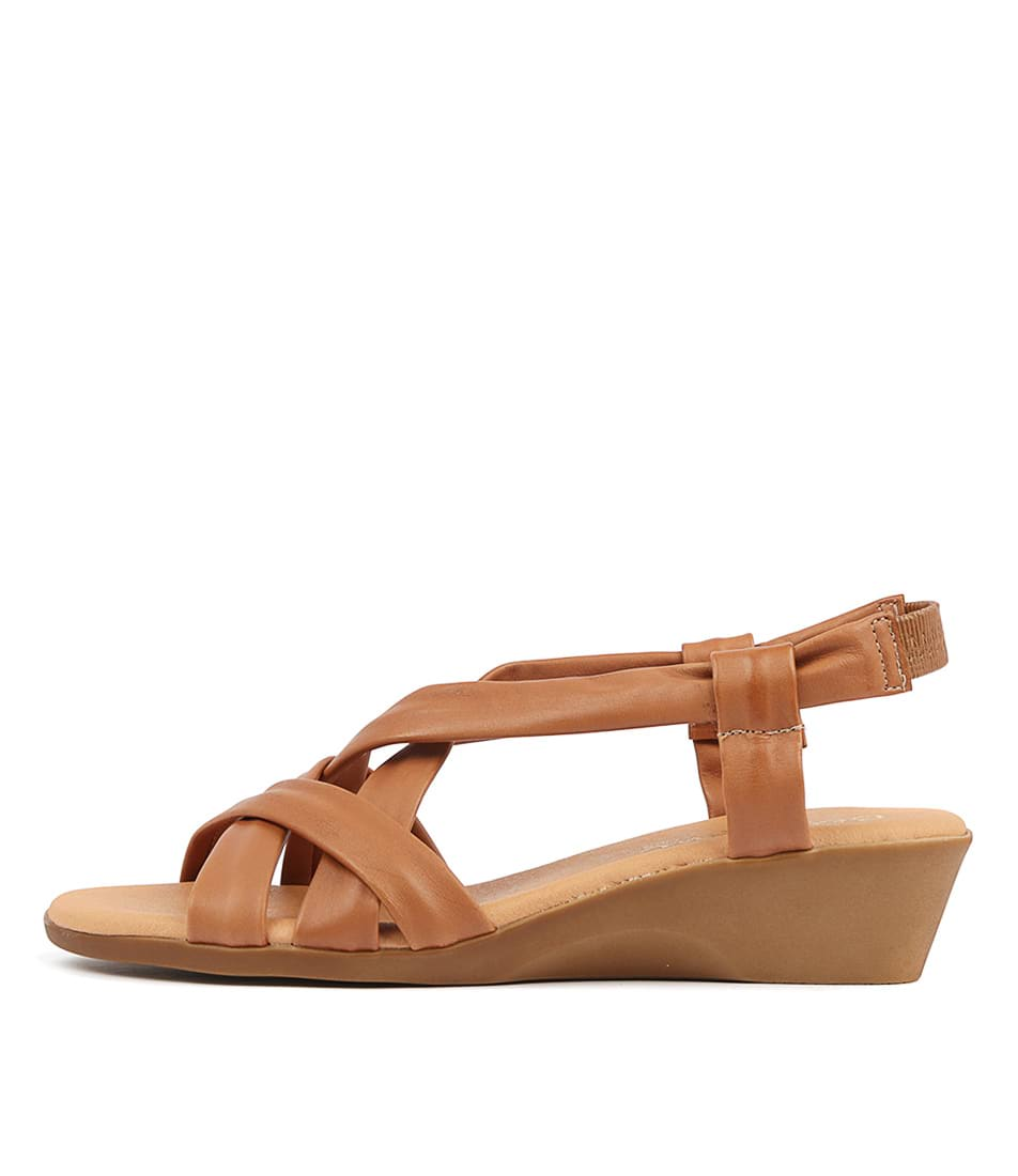 Buy Beltrami Ana Sofia Be Tan Heeled Sandals online with free shipping