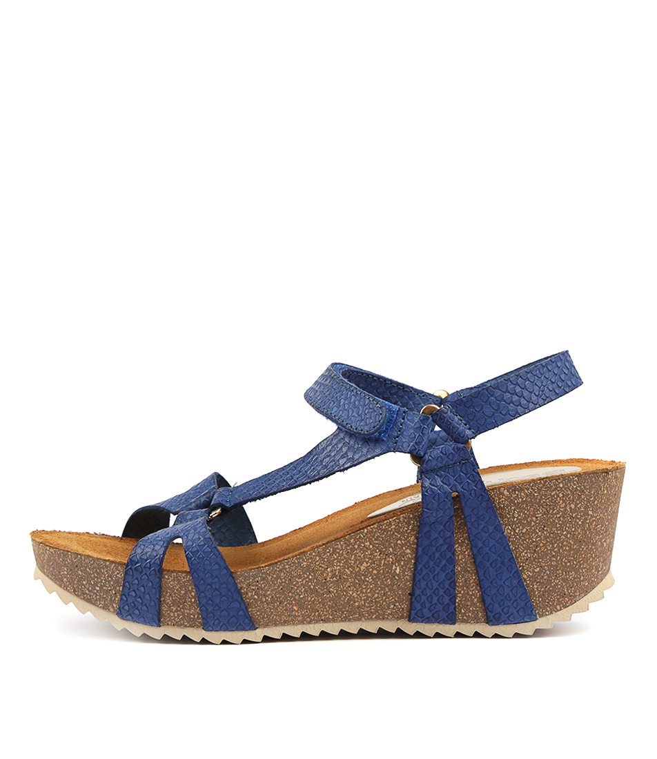 Buy Beltrami Marilu Azul Heeled Sandals online with free shipping