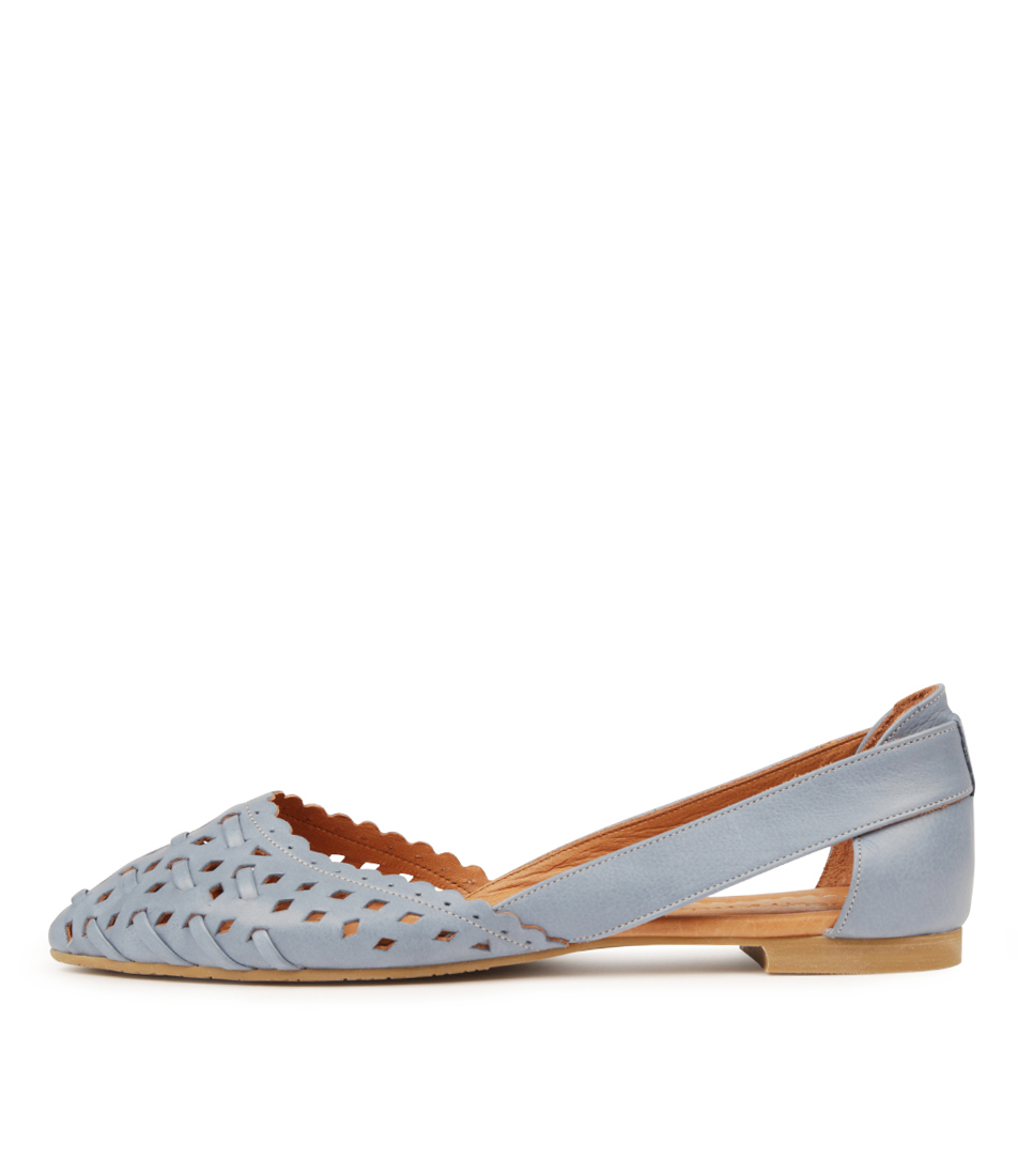 Buy Beltrami Calandra Denim Flats online with free shipping