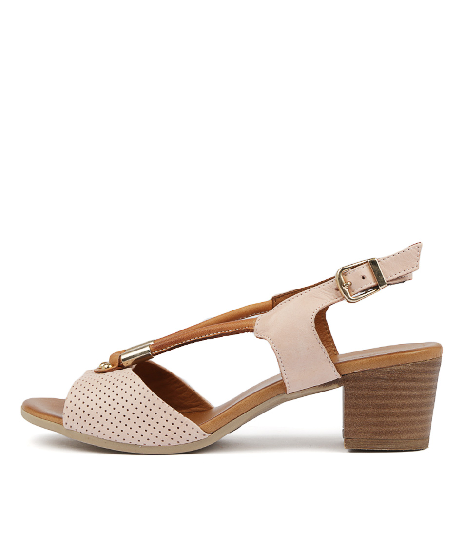 Buy Beltrami Cecilie Blush Heeled Sandals online with free shipping