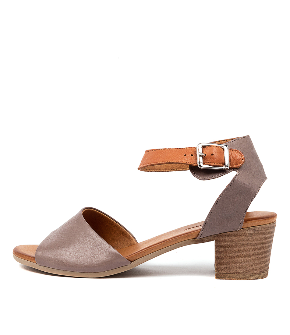 Buy Beltrami Charlise Taupe Heeled Sandals online with free shipping