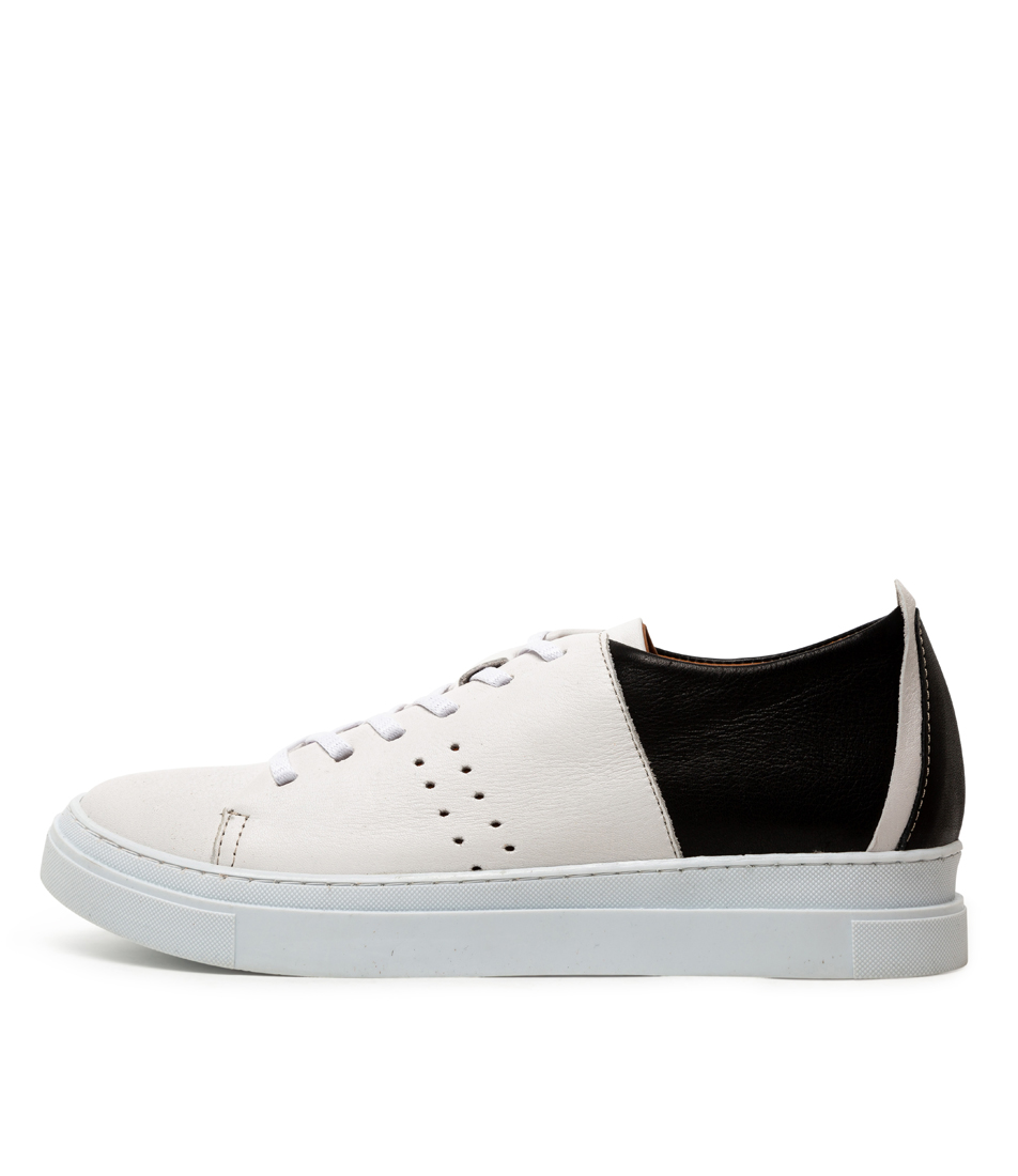 Buy Beltrami Andie White Black Sneakers online with free shipping