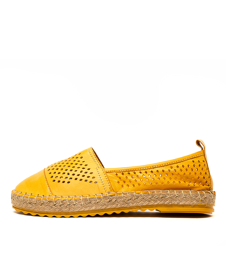 Buy Beltrami Rhylee Yellow Flats online with free shipping