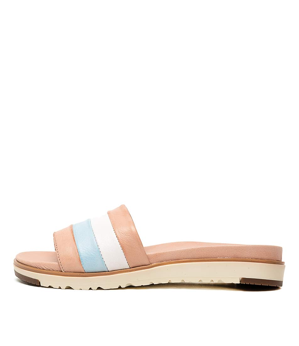 Buy Beltrami Marlow Nude Multi Flat Sandals online with free shipping