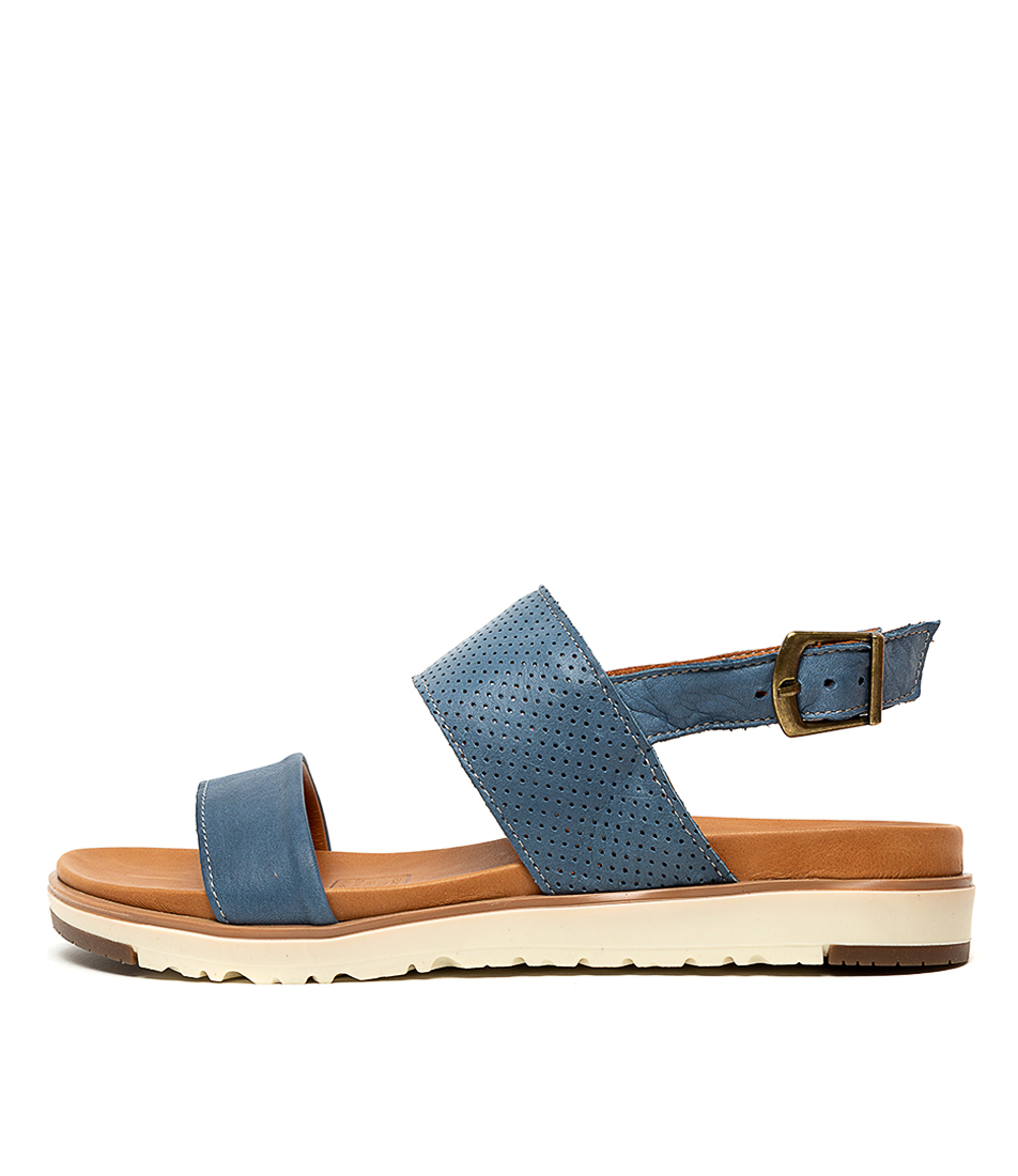 Buy Beltrami Milana Jeans Flat Sandals online with free shipping