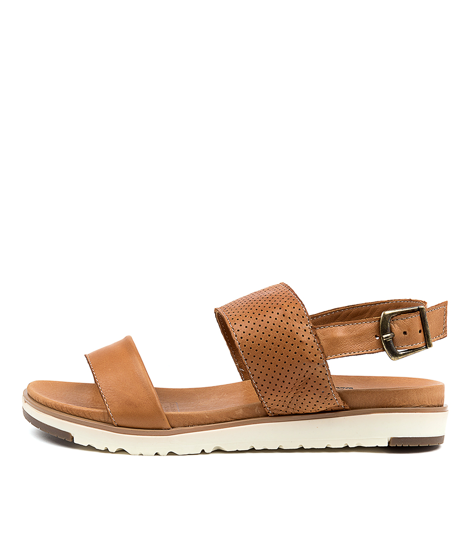 Buy Beltrami Milana Tan Flat Sandals online with free shipping