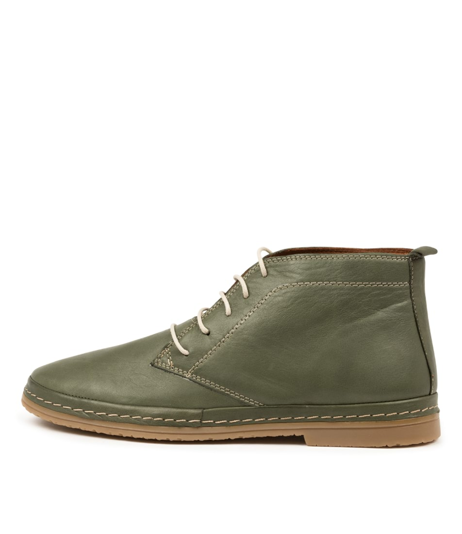Buy Beltrami Corell Olive Ankle Boots online with free shipping