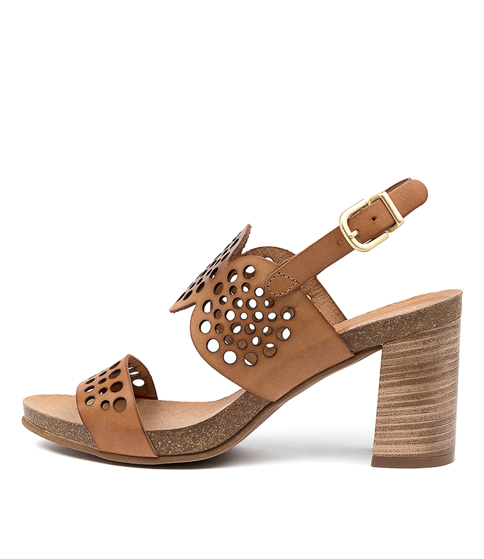 Buy Beltrami Preeda Be Tan Casual Heeled Sandals online with free shipping