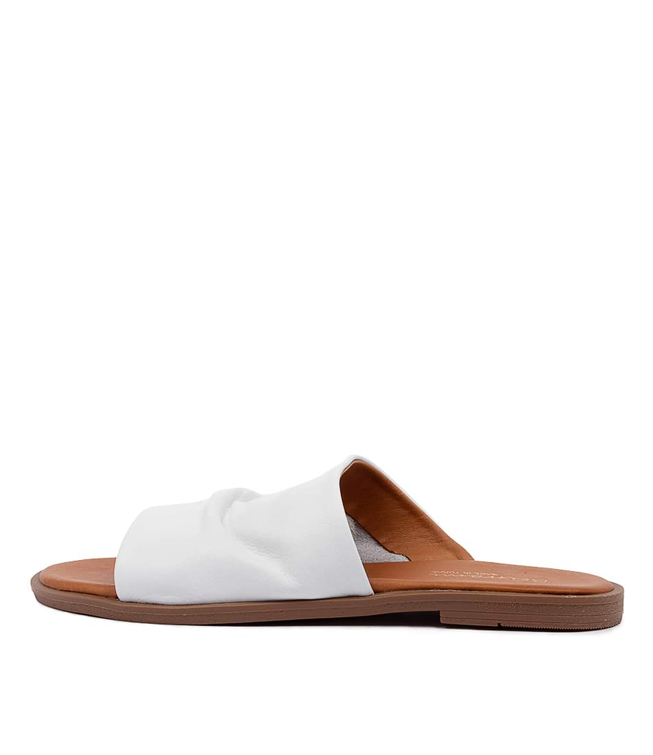 Buy Beltrami Talitha Be White Heeled Sandals online with free shipping