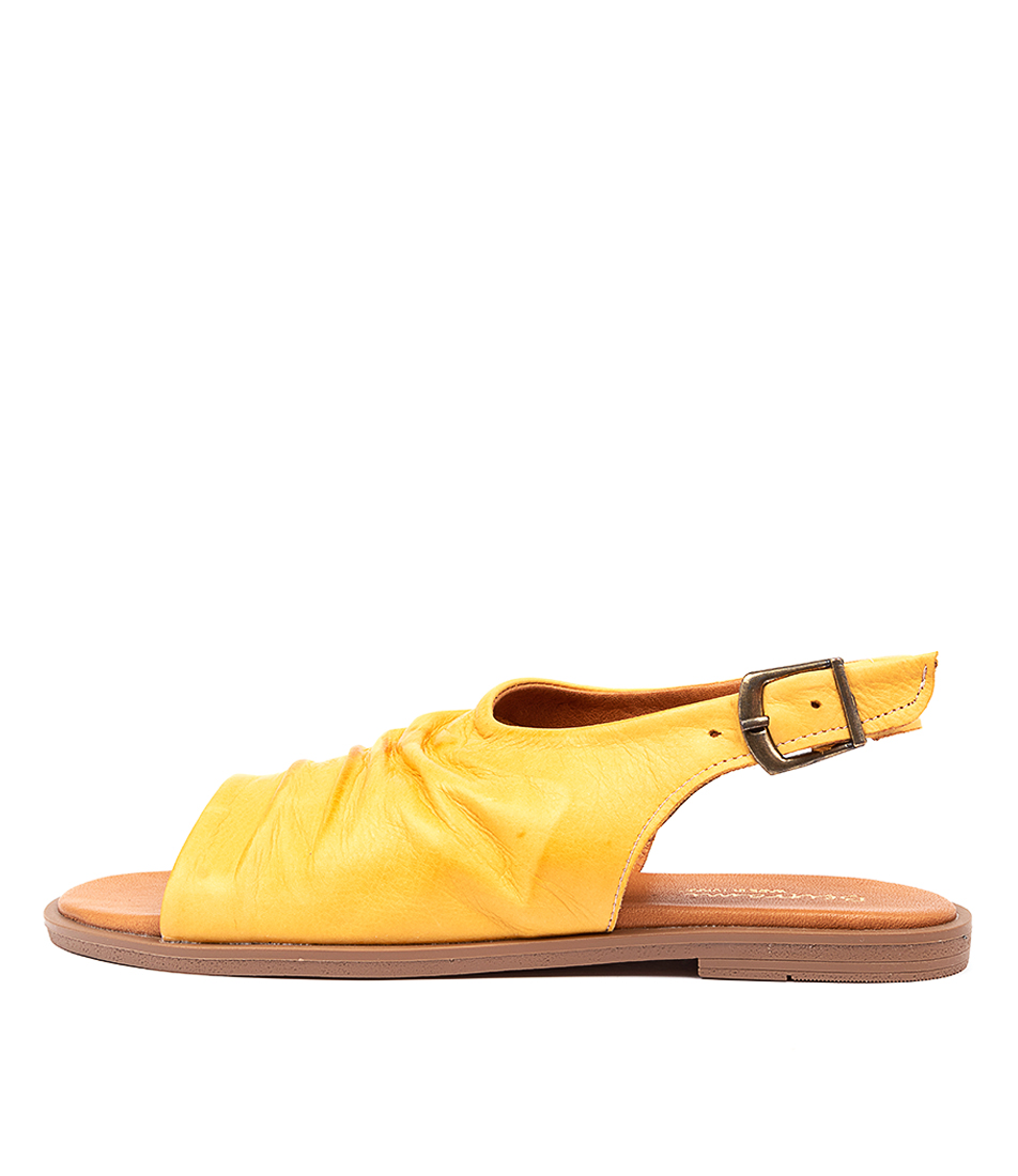 Buy Beltrami Tamaya Be Yellow Heeled Sandals online with free shipping