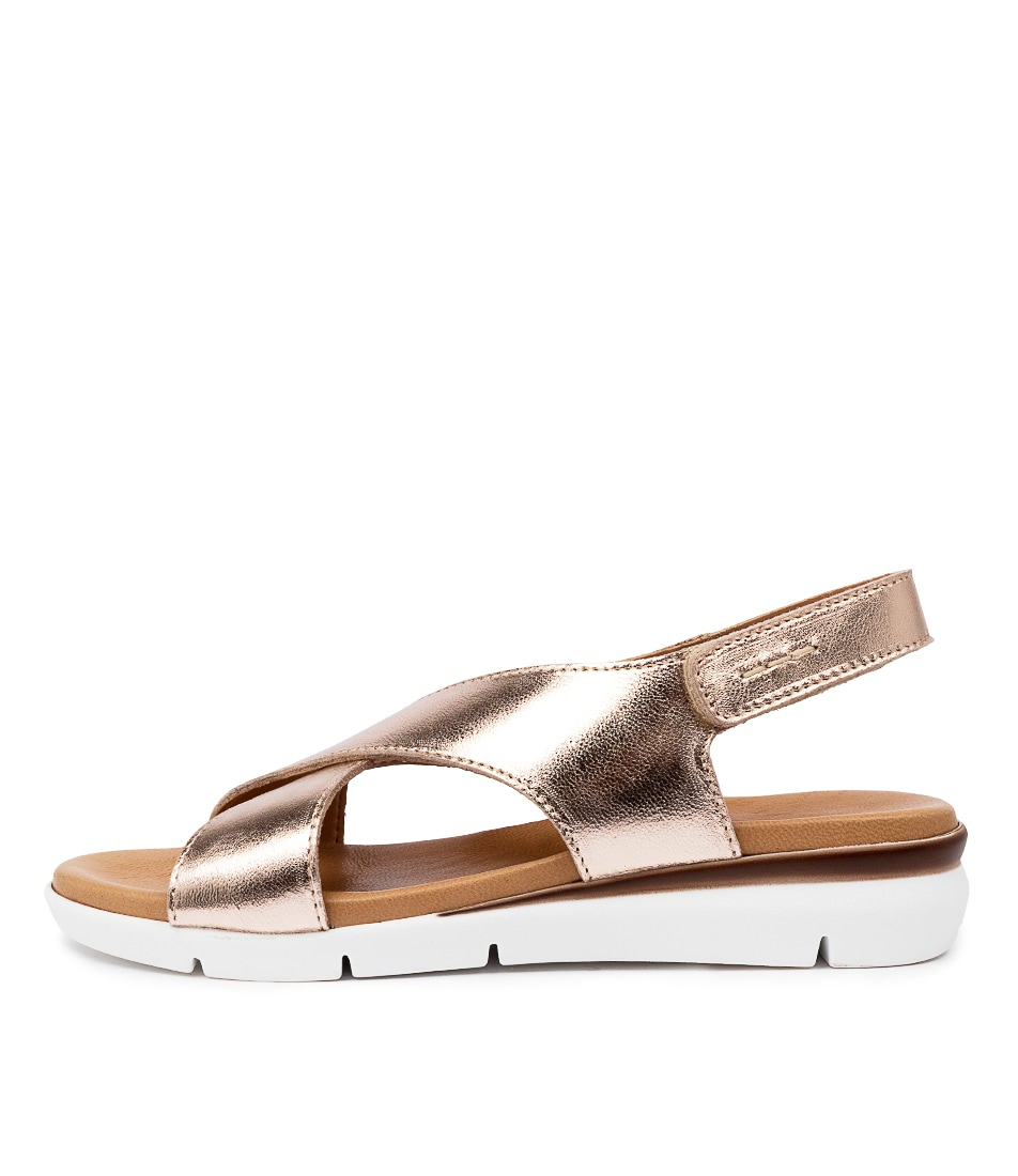Buy Beltrami Zannita Be Rose Gold Flat Sandals online with free shipping