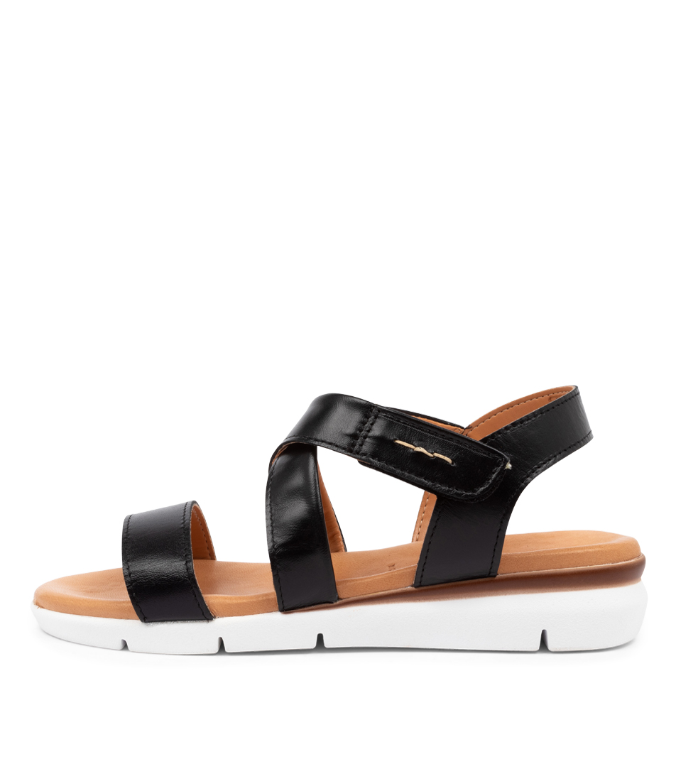 Buy Beltrami Zannia Be Black Flat Sandals online with free shipping