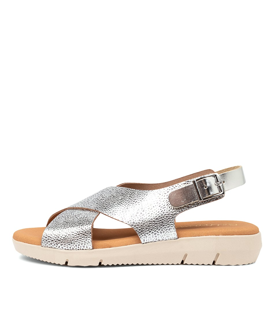 Buy Beltrami Fabiana Be Silver Heeled Sandals online with free shipping