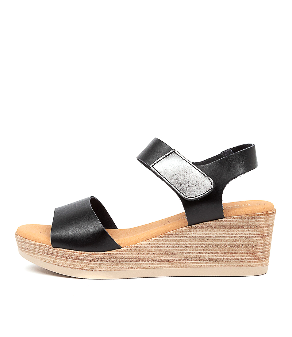 Buy Beltrami Jimela Be Black Heeled Sandals online with free shipping