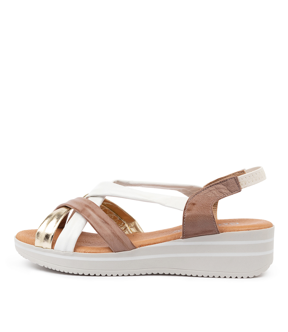 Buy Beltrami Bedelia Be Metallic Multi Flat Sandals online with free shipping