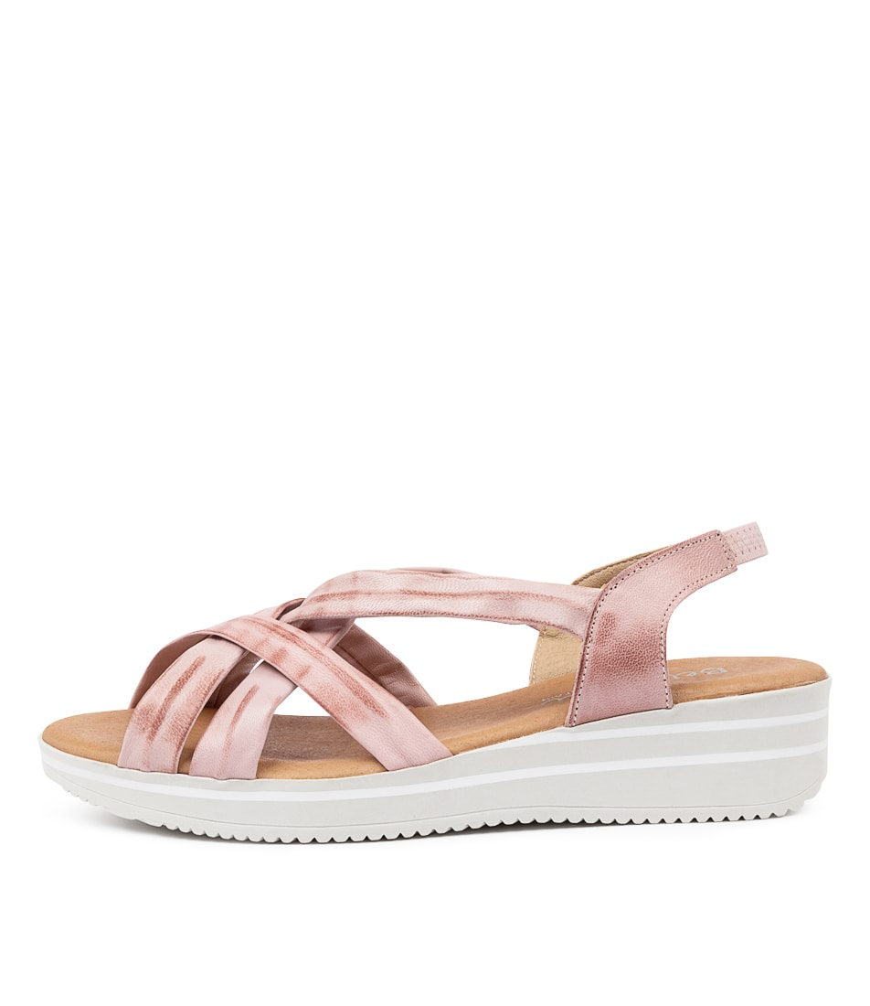 Buy Beltrami Bedelia Be Nude Flat Sandals online with free shipping
