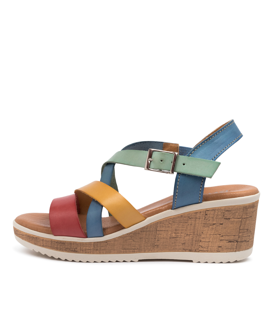 Buy Beltrami Mairead Be Bright Multi Heeled Sandals online with free shipping