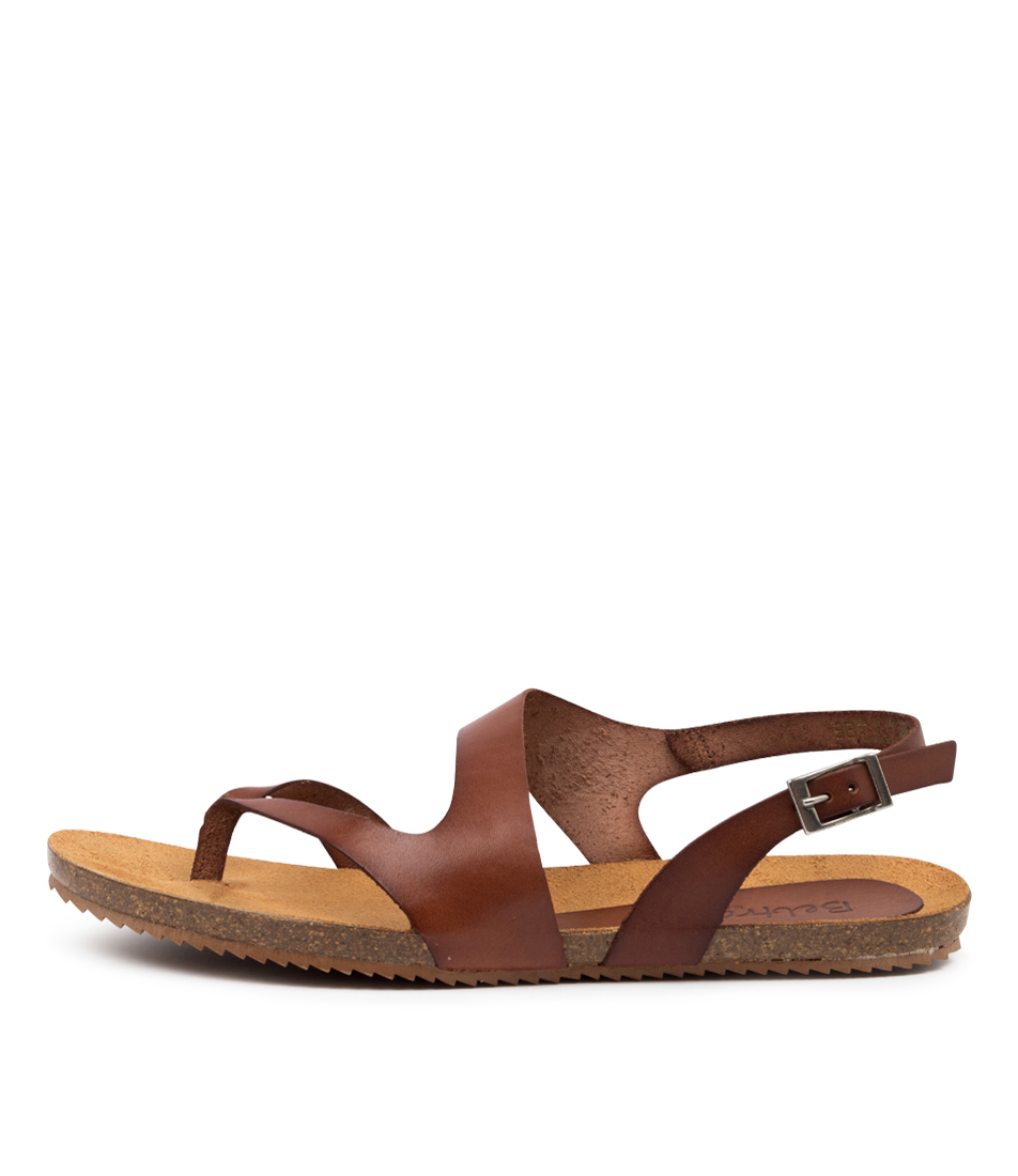 Buy Beltrami Yeva Be Tan Flat Sandals online with free shipping