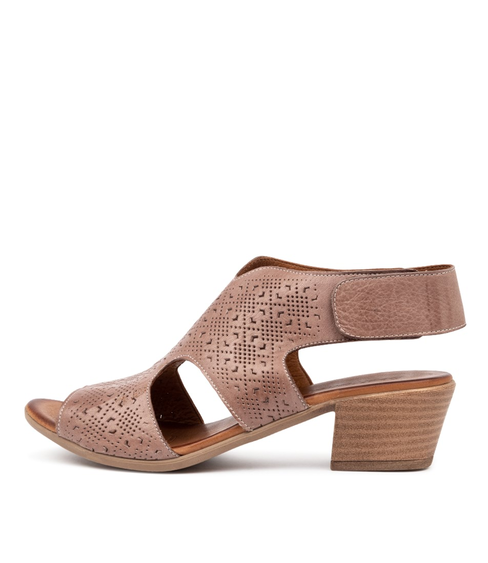 Buy Beltrami Cayan Be Taupe Heeled Sandals online with free shipping