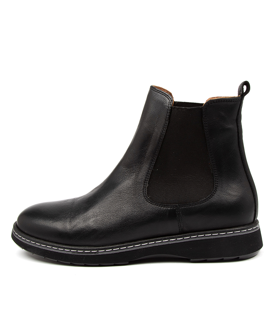 Buy Beltrami Cimber Be Black Black Sole Ankle Boots online with free shipping