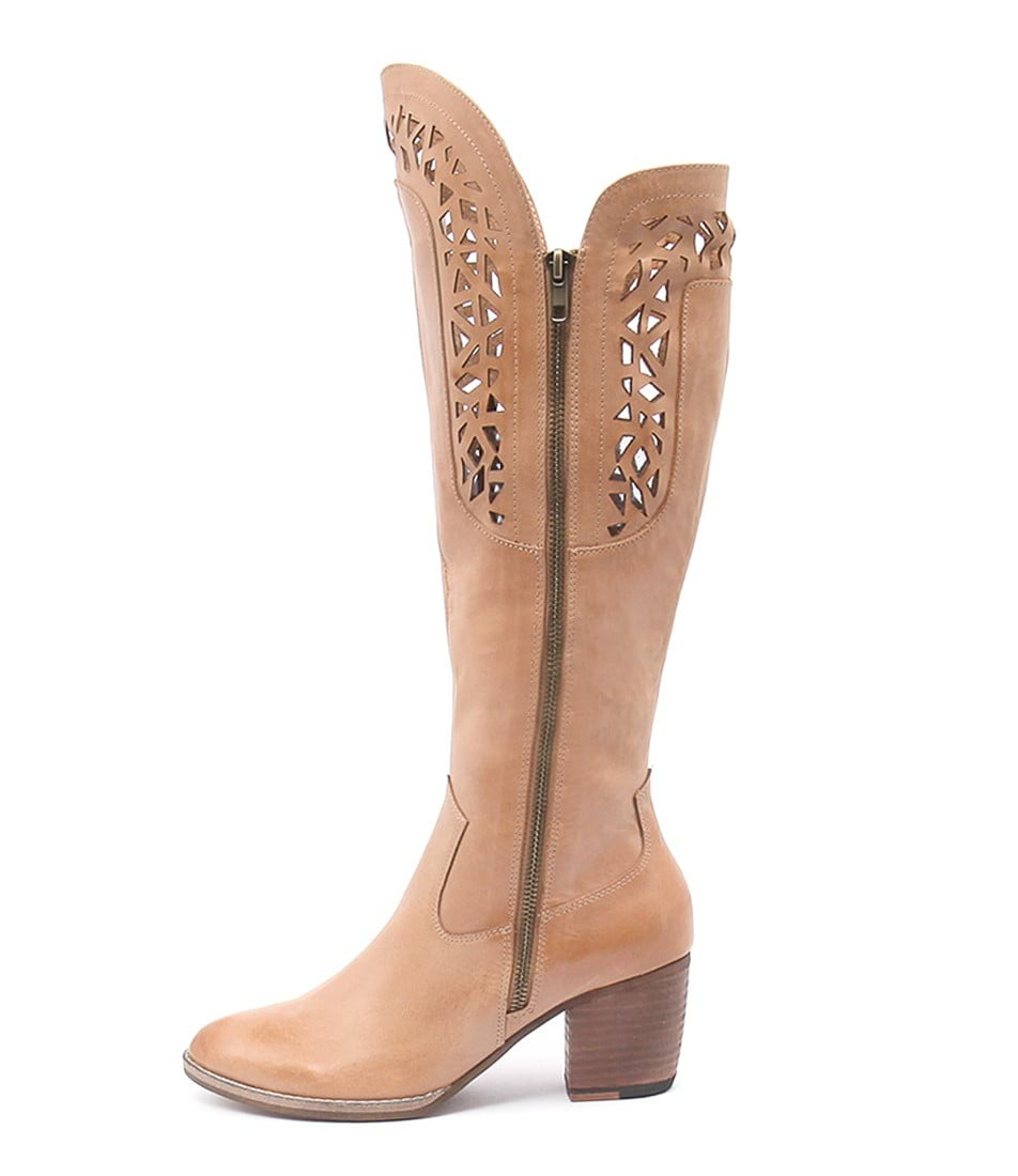 Django & Juliette Behind Tan Ankle Boots buy  online
