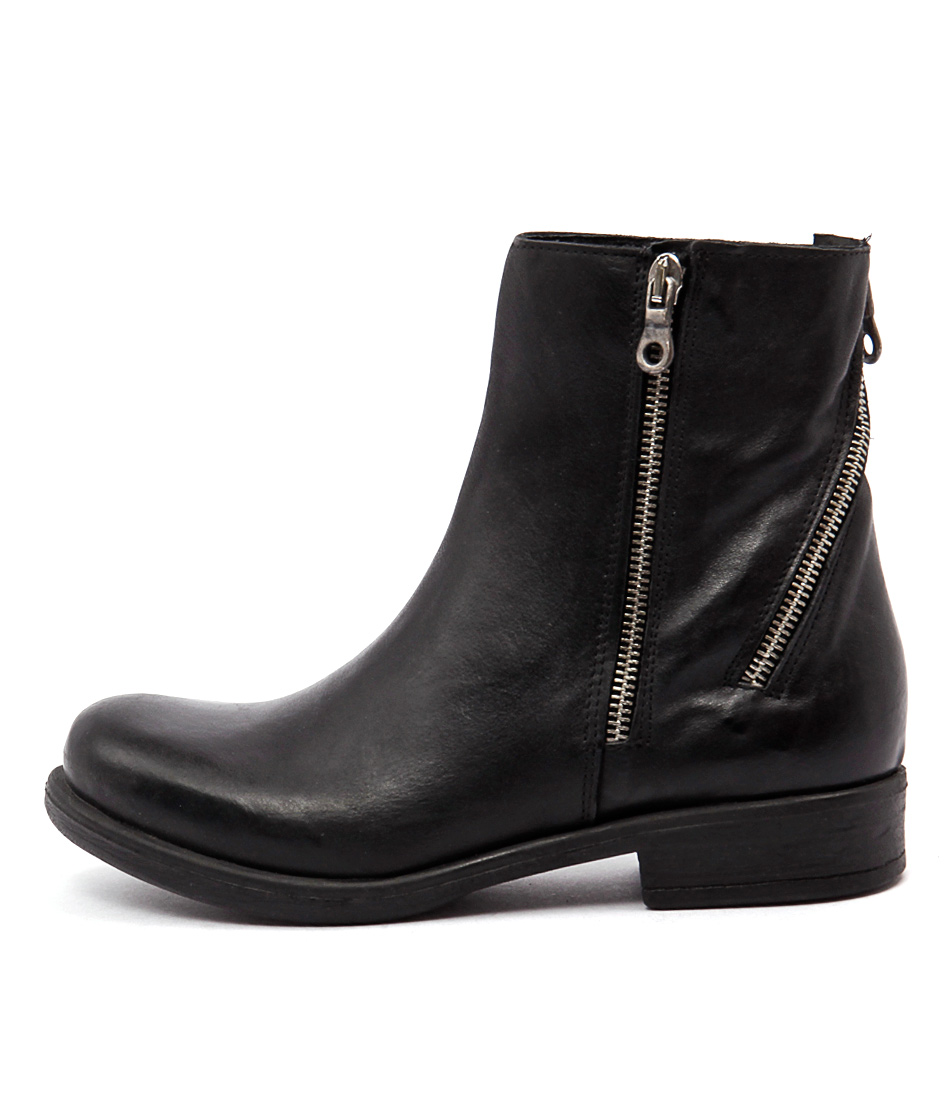 Beltrami T831 Nero (Black) Casual Ankle Boots