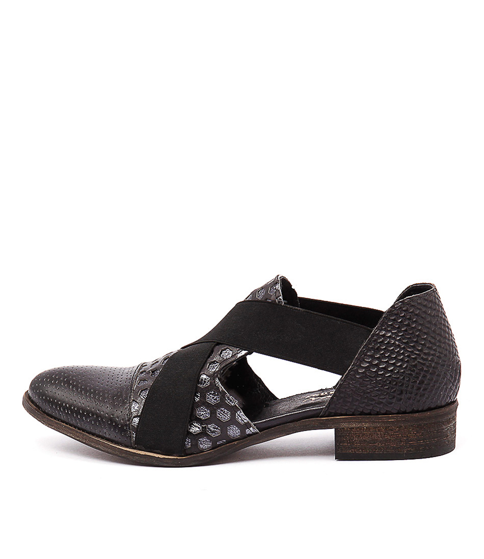 Beltrami P112 V2 Nero Casual Flat Shoes