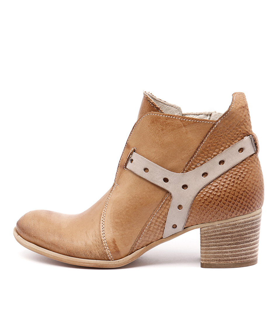 Beltrami V104 V1 Cuoio (Tan) Ankle Boots