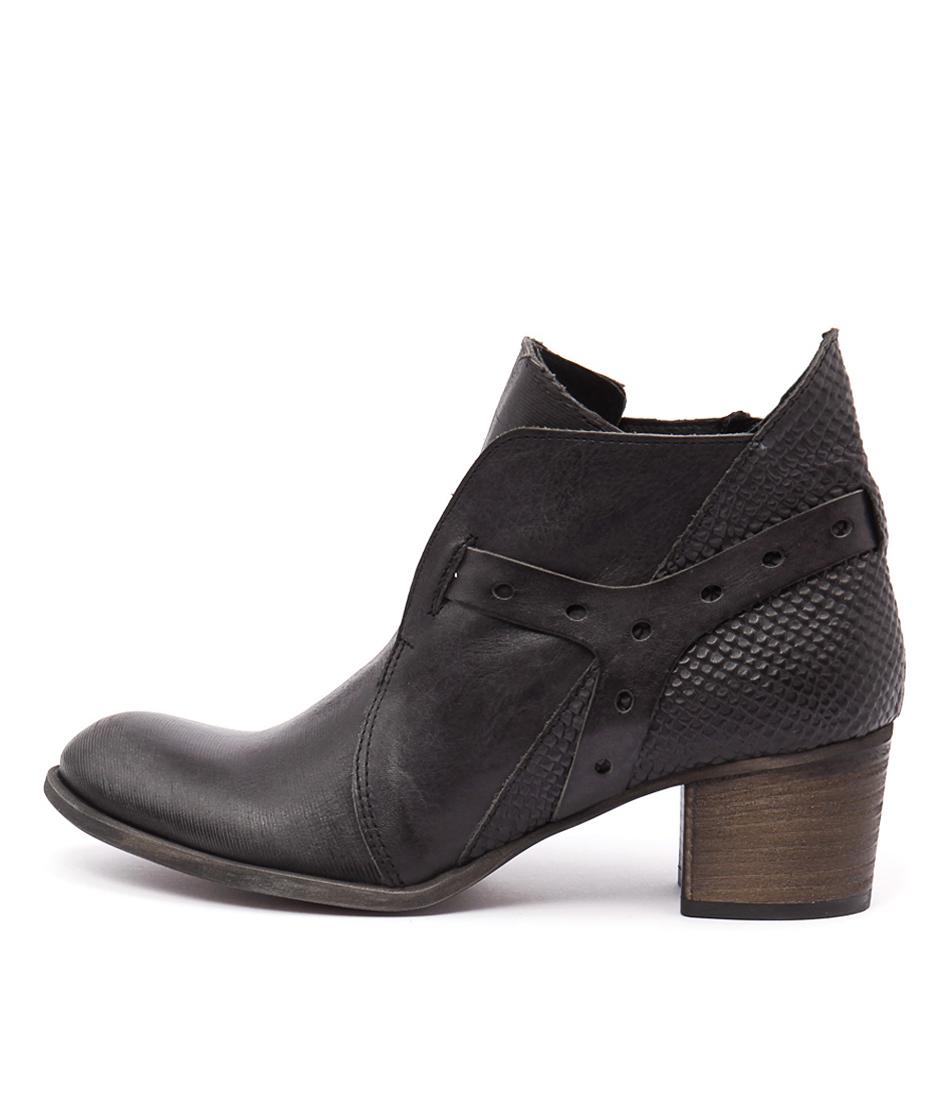 Beltrami V104 V1 Nero Nero (Black Black) Casual Ankle Boots