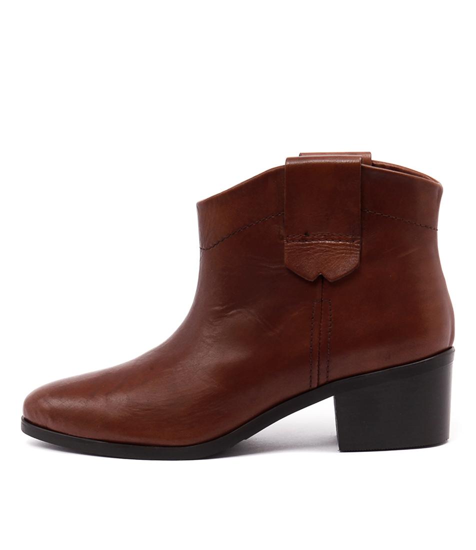 Beltrami 1759 A Cognac Ankle Boots