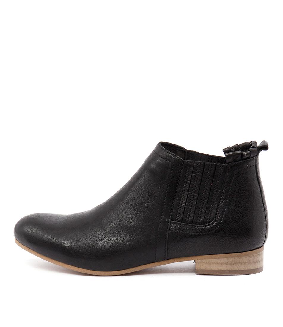 Beltrami 444 T Black Ankle Boots