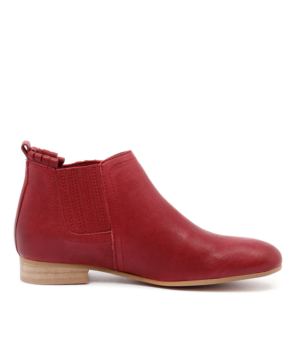 New Beltrami 444 T Red Womens Shoes Casual Boots Ankle