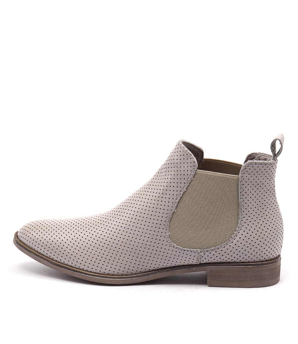 Beltrami Rosana Grey Ankle Boots