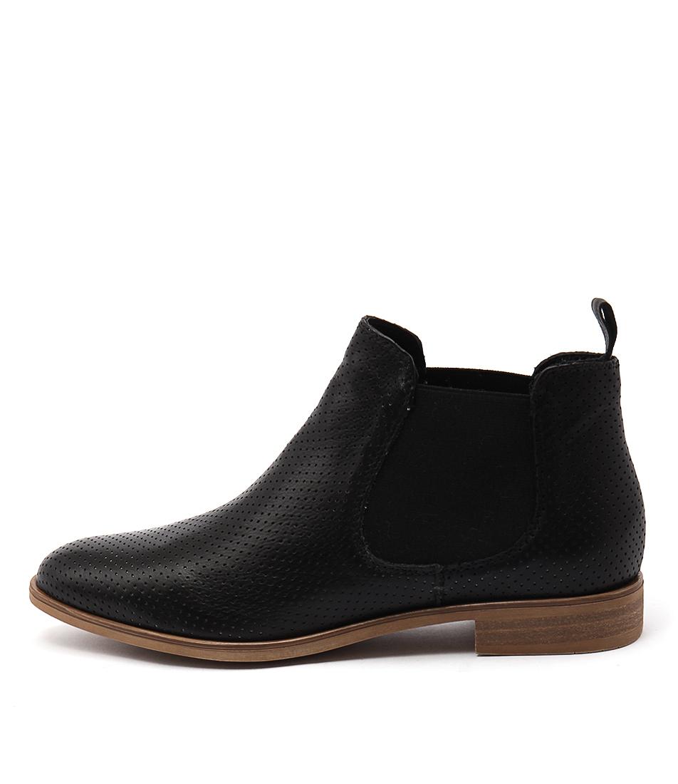 Beltrami Rosana Black Ankle Boots