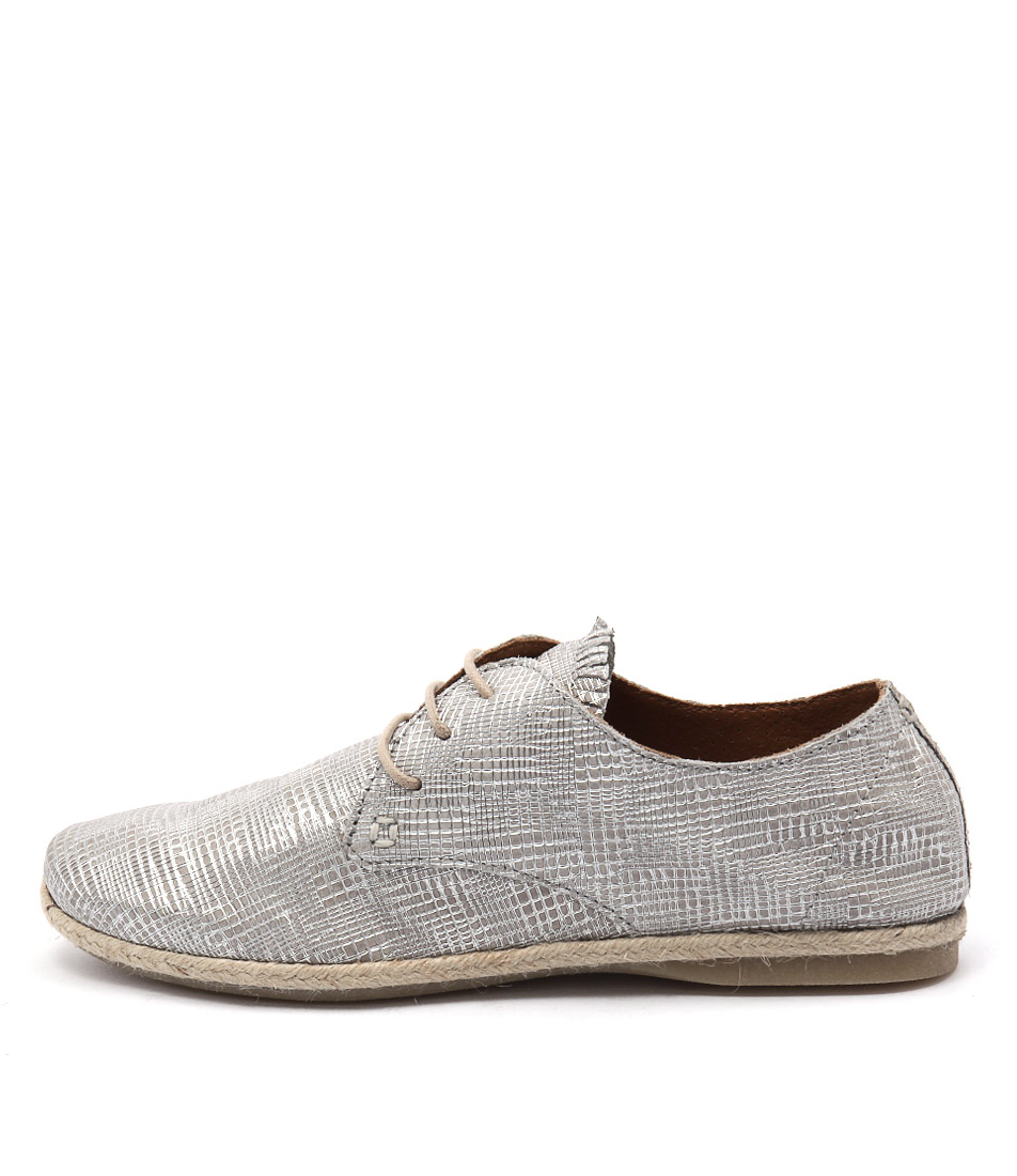 Beltrami Regena Silver Shoes