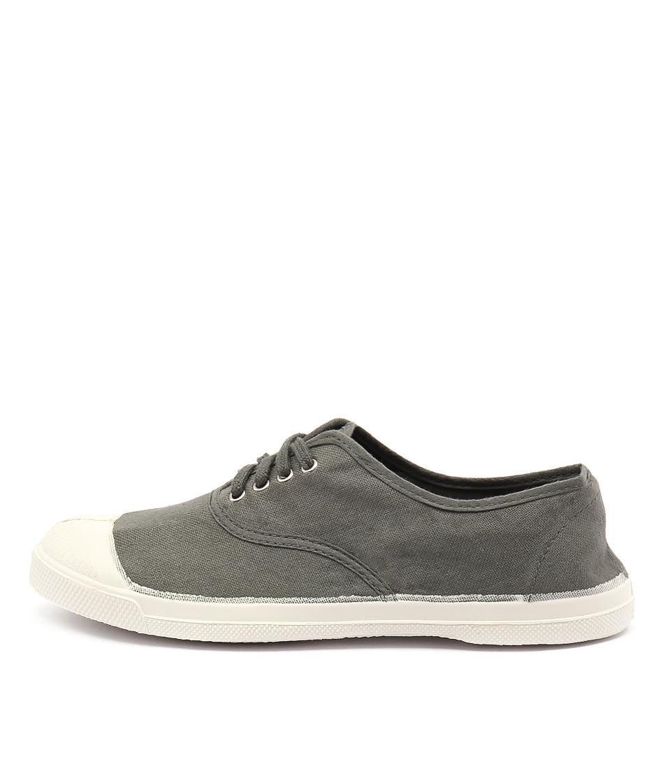 Ben Simon Lacet Khaki Sneakers