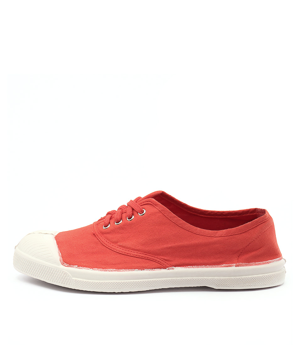 Ben Simon Lacet Red Sneakers