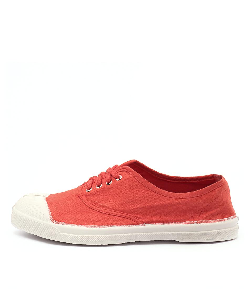 Ben Simon Lacet Red Sneakers