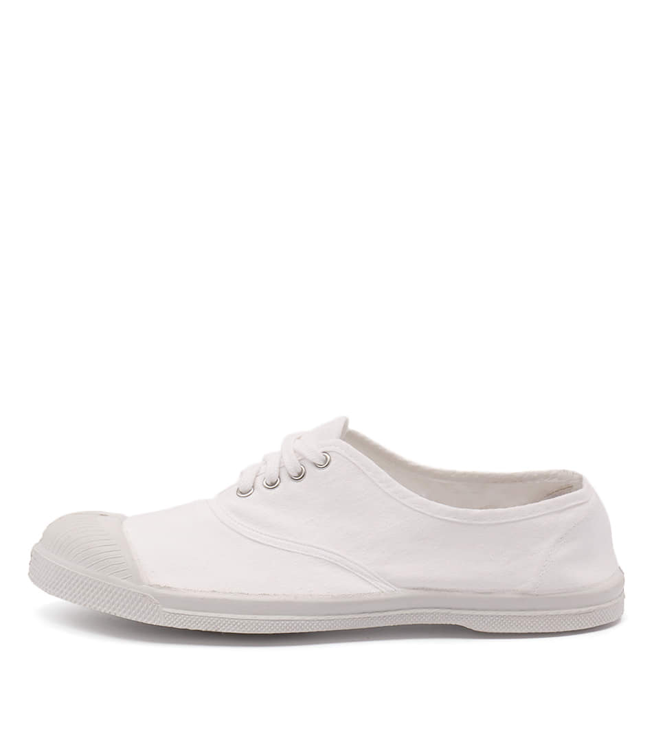 Ben Simon Lacet White Sneakers