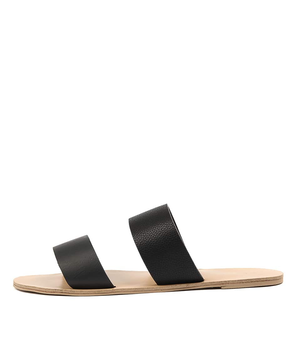 Buy Billini Cuban Black Flat Sandals online with free shipping