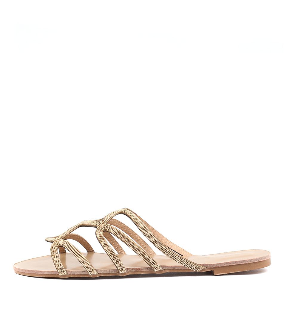 Billini Santana Gold Sandals