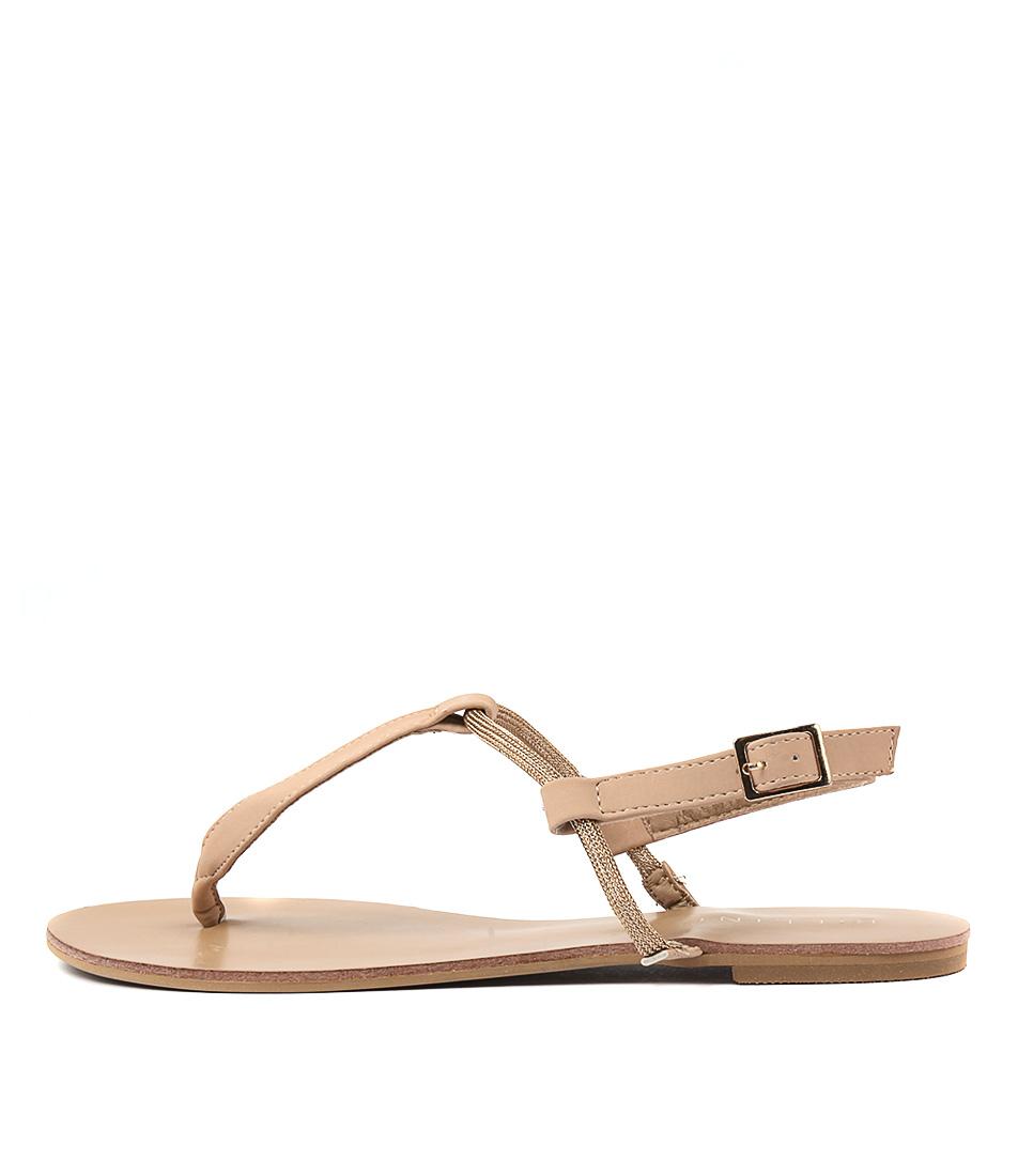 Billini Milano Nude Sandals