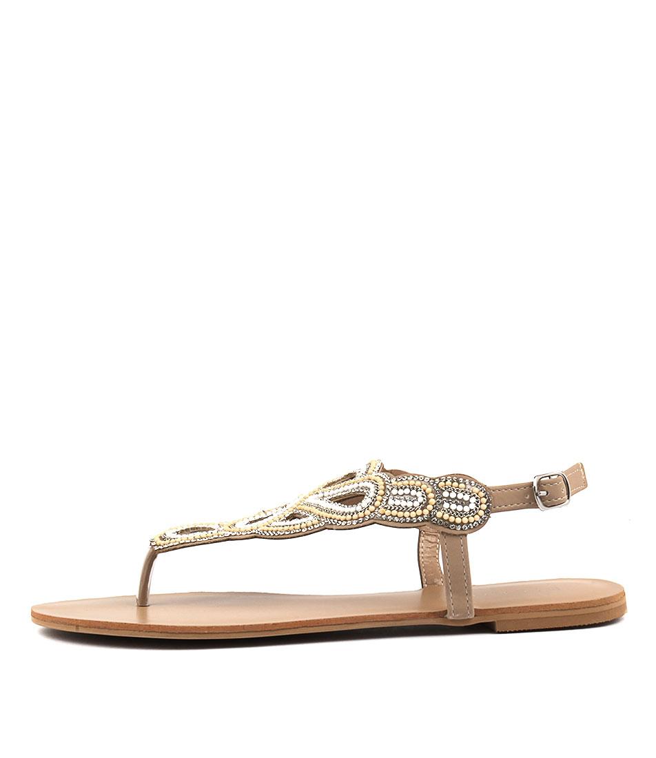 Billini Jaipur Nude Sandals