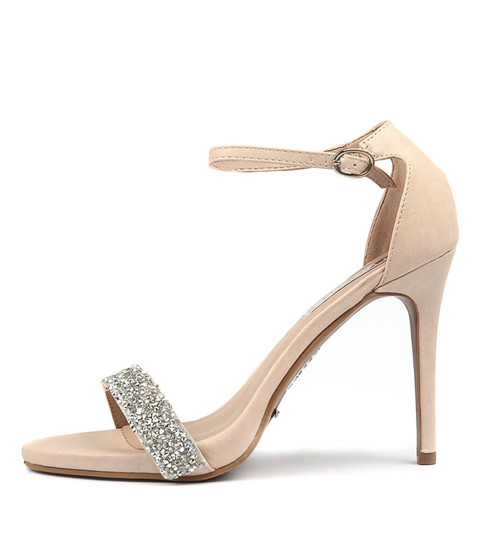 Billini Nyla Nude Heeled Sandals